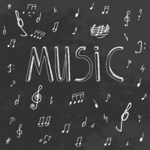 lavagna musica