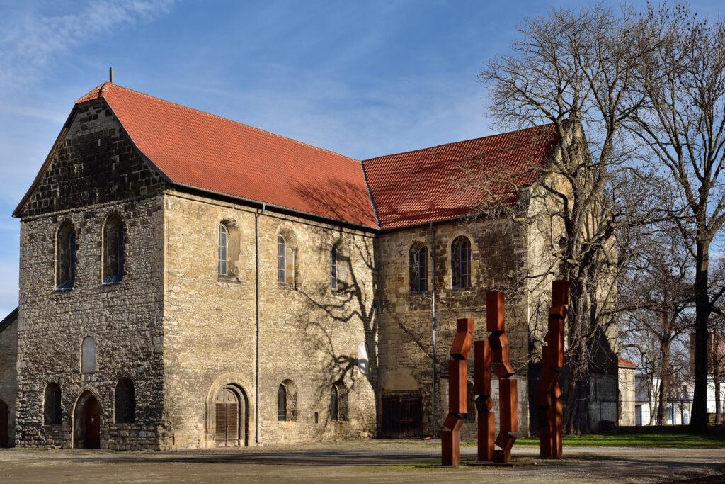 La chiesa di St. Burchardi dove puoi ascoltare As slow as possibile, il concerto più lungo di sempre.